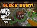 "Minecraft Minigames Online #002 ITA by Merlocraft - Block Hunt ""Nascondino di Mob"""