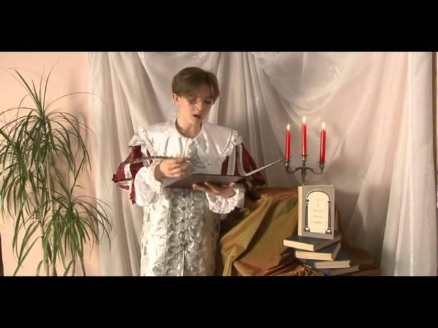 Изображение предпросмотра прочтения – АртемГоловин читает произведение «Сонет № 5. Украдкой время с тонким мастерством…» У.Шекспира