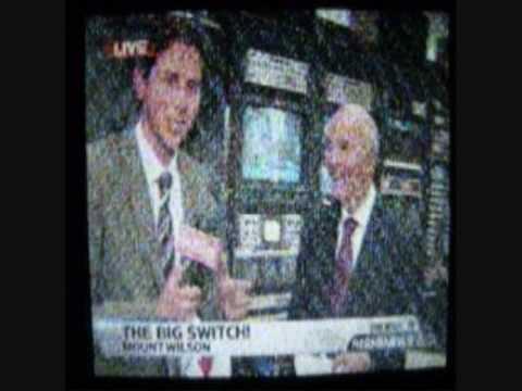 """YouTube video of analog TV shutoffs in Los Angeles"""