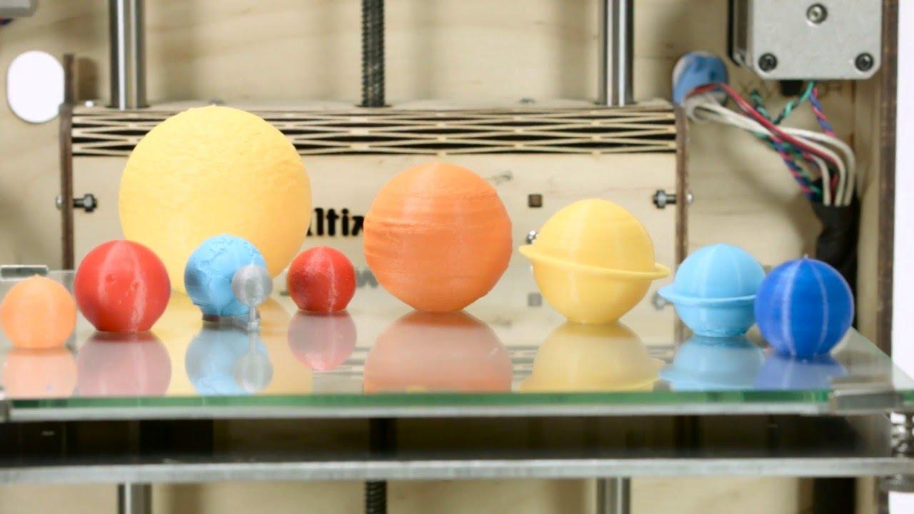 Solar System by Prototipadora - Ultimaker: 3D Printing Timelapse