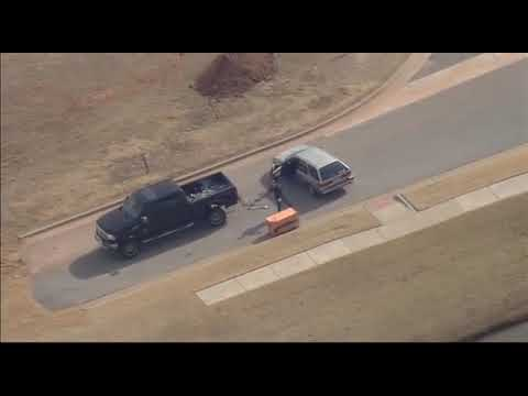 Highlights from hours-long police chase in Oklahoma City, Moore