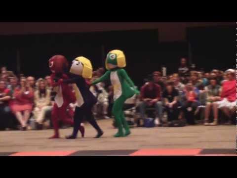 Sakura-Con 2012 Costume Competition: Keroro Platoon ~Judges Choice Award~