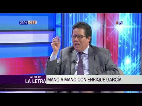 Enrique García y Carlos Arregui en Al Pie de la Letra  13  03  2018