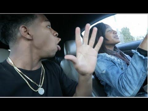 I LET MY 14 YEAR OLD SISTER DRIVE MY CAR! SHE HIT MOMS CAR! ll VLOGMAS 13
