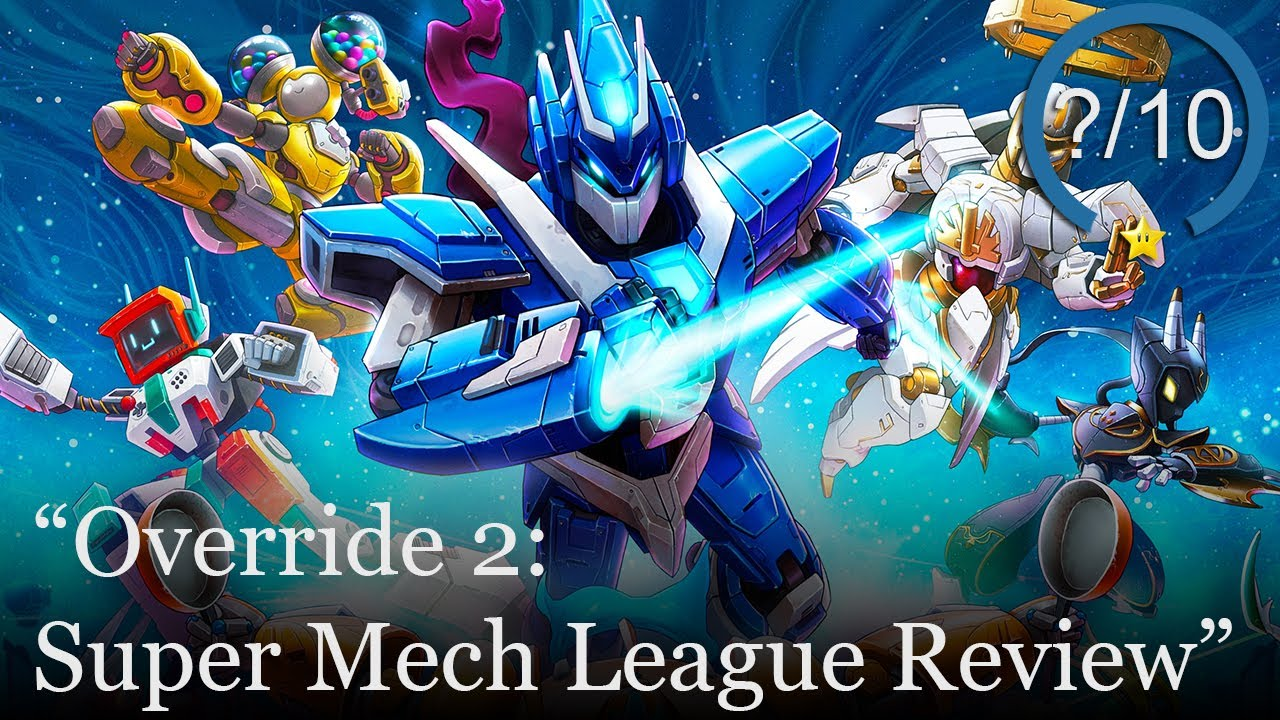 Override 2: Super Mech League Review [PS5, Series X, PS4, Switch, Xbox One, & PC] (Video Game Video Review)