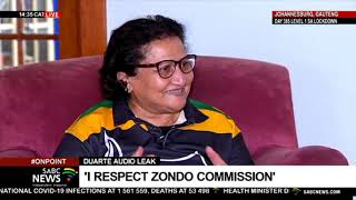 EXCLUSIVE | ANC DSG Jesse Duarte speaks to SABC about leaked audio, factions and Magashule