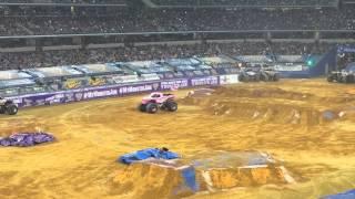 Medusa freestyle Monster Jam AT&T Stadium Arlington,TX Feb 21,2015