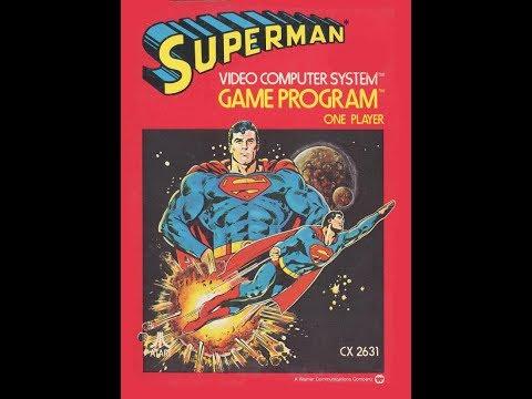 Superman on the Atari 2600
