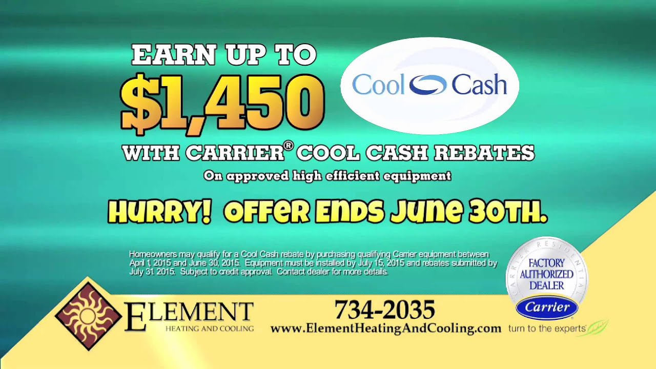 Element Heating And Cooling Cool Cash Spring 2017 Rev1