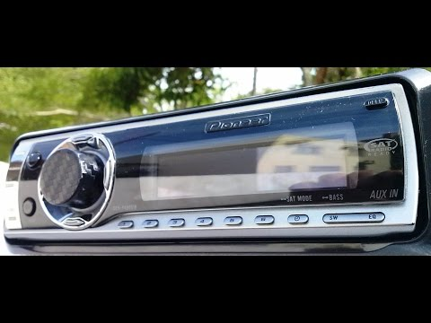 Auto Radio Cd Mp3 Pioneer Tela Oel Tipo Golfinho DehP4900ib controla Ipod Iphone 6 Rca