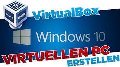 Virtuellen PC erstellen mit VirtualBox (Windows 10, 8, 7) | Tutorial [German/HD+]