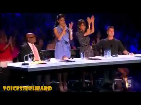The X Factor USA - Melanie Amaro Audition Listen  Beyonce 9/22/11