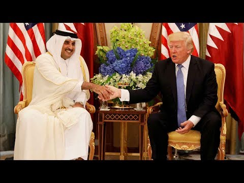 Calling Qatar a terror sponsor while selling them fighter jets: what's Trump's real attitude?