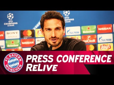 FC Bayern Press Conference w/ Heynckes & Hummels ahead of Be