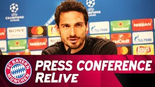 FC Bayern Press Conference w/ Heynckes & Hummels ahead of Besiktas Istanbul 🇩🇪 | ReLive