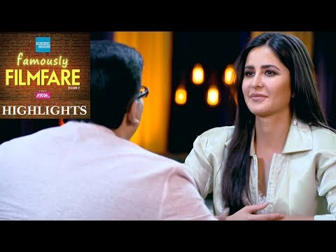 Katrina Kaif Interview | Katrina Kaif Talks About Love And Friendship | Famously Filmfare S2