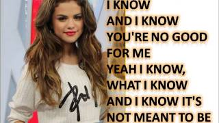 Selena Gomez and The Scene - My Dilemma 2.0 Lyrics