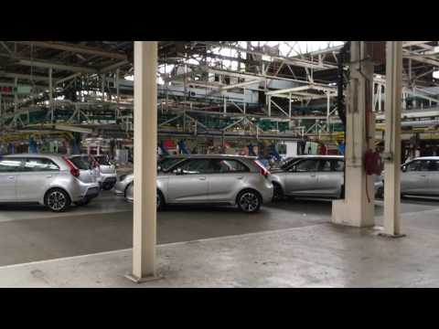 Longbridge MG Rover Visit Feb 2017