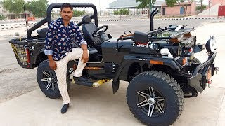 SUPER MODIFIED JEEPS...WITH A.C & NON A.C......| S.S MODIFIED JEEPS | FOR ORDER CONTACT @ 8685021583