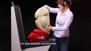 cybex kindersitz solution q2 fix einbauvideo