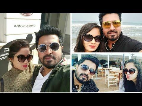 Radha Ramans Skanda Ashok And Wife Honeymoon Pictures