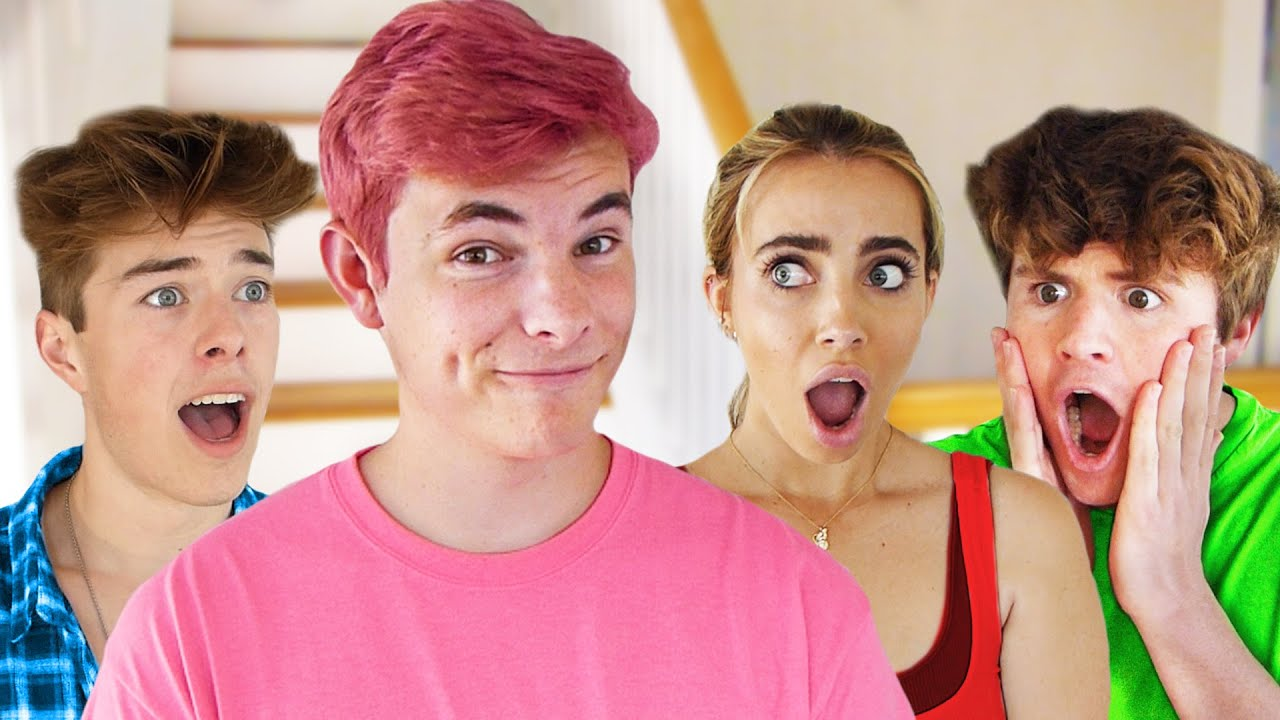 DYING MY HAIR PINK AND SURPRISING MY FRIENDS!!