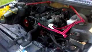 Volvo 240 K cam first start