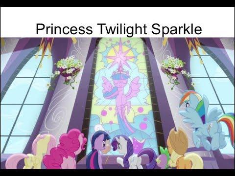 "Blind Reaction: MLP FIM Season 4 Episodes 1 And 2 ""Princess Twilight Sparkle"""