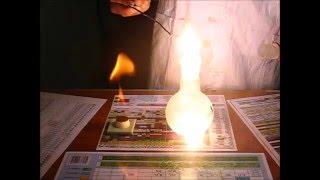 НХ#3.1:горение в углекислом газе)