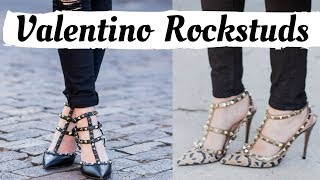 VALENTINO ROCKSTUD HEELS COLLECTION
