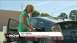 2017 Inflation on gas, rent and car insurance
