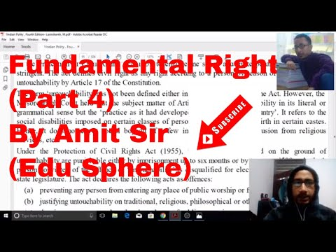 Indian Polity by Laxmikant | Fundamental Rights | Part 4 | Intro and Features| UPSC - IAS