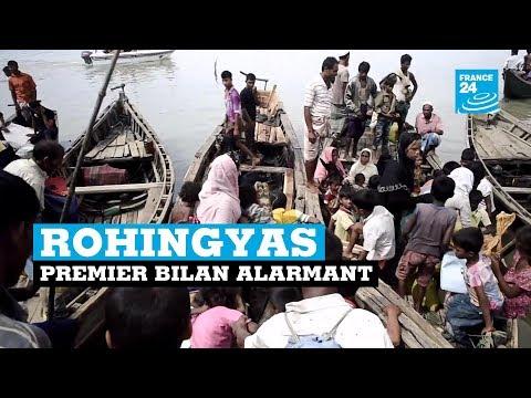 Crise des Rohingyas, premier bilan alarmant