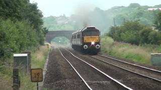 West Coast Railways 47851 powering towards Hapton