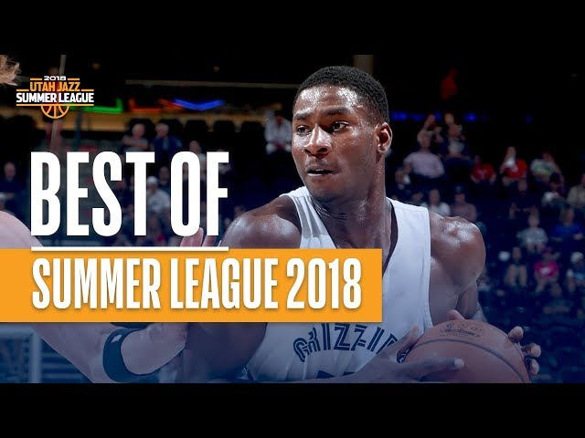 Best Plays From The 2018 NBA Utah Summer League