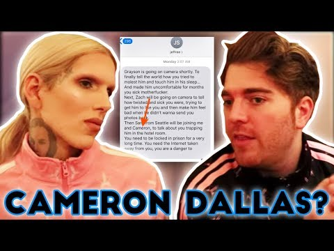 Did James Charles Try To ____ Cameron Dallas??? thumbnail