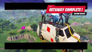 My first Getaway Victory Fortnite