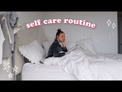 MY PAMPER ROUTINE ✨ a self care sunday thumbnail