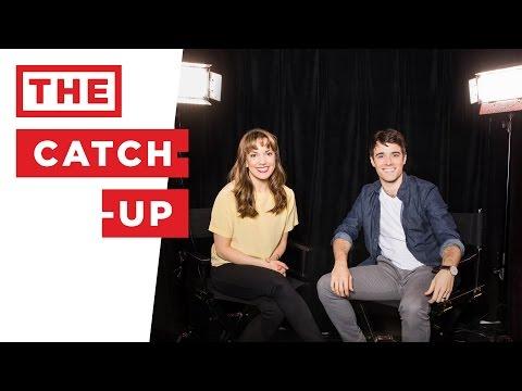THE CATCH-UP: Corey Cott (BANDSTAND, NEWSIES, GIGI) & Kara Lindsay (NEWSIES, WICKED) reunite
