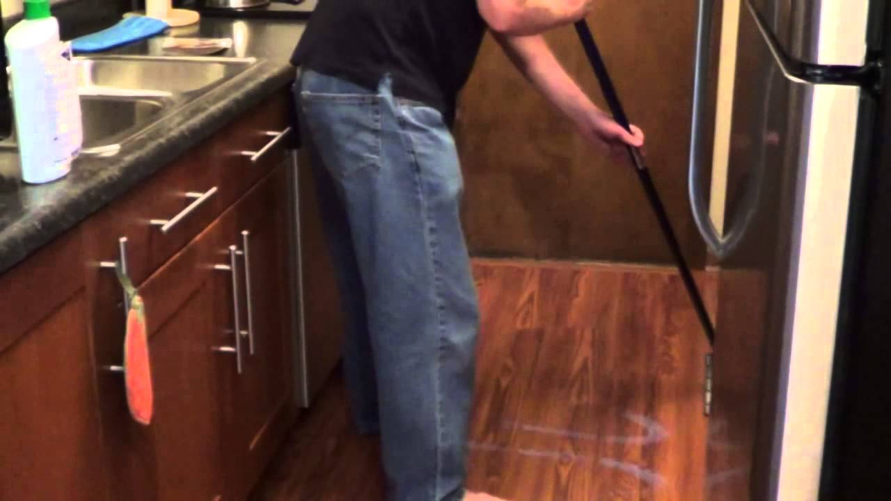 Laminate Floor Polish - How to Shine Laminate Floors - YouTube