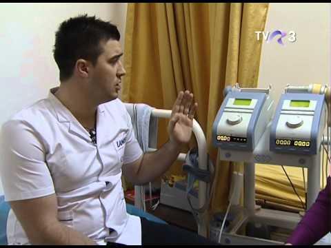 laser de fizioterapie în varicoză