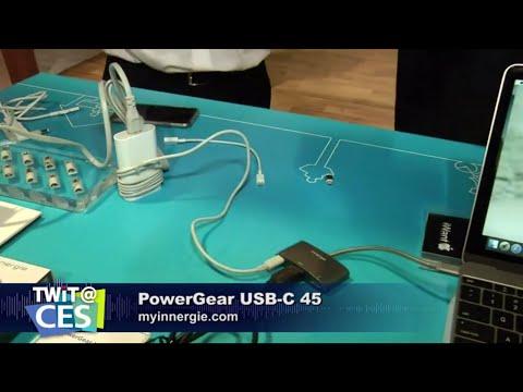 TWit.TV 採訪Innergie 最新產品- PowerGear USB-C 45