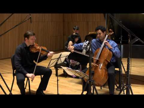 Horszowski Trio plays Brahms Trio No. 3 in C Minor Op. 101 (Allegro Energico)