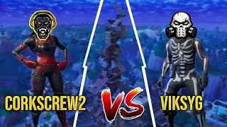 corkscrew2 vs ViksyG - Build Battles / Playground mode - Fortnite