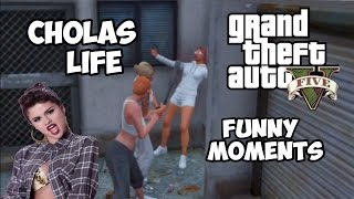 GTA 5 Funny Moments - Cholas Life,Red Dead Redemption (Skits)