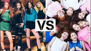 TWICE VS BLACKPINK | RAP BATTLE