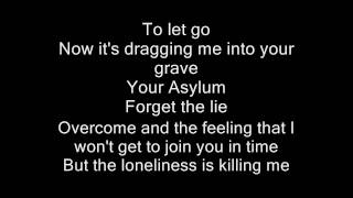 Disturbed  Asylum Lyrics (HD) NO COPYRIGHT