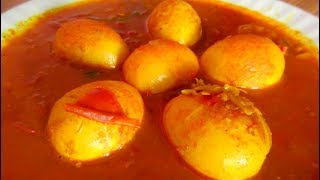Egg Masala Curry || Indian Bengali Recipe || Only Indian Food