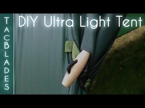 DIY Ultra Lightweight Tent : Wild Camping