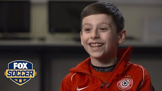 George wasn't supposed to walk, but now he's inspiring kids everywhere